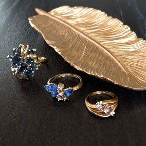 💛💙💛 Rings